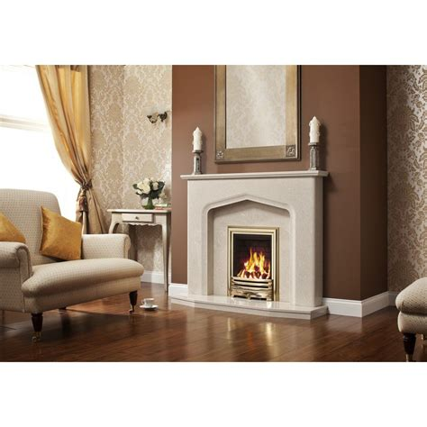 Tudor Style Fireplace by Elgin And Aurelia 48 Quot Tudor Style Marble Fireplace