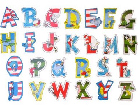 dr seuss printable alphabet letters dr seuss alphabet magnet letters entire set brand new ebay