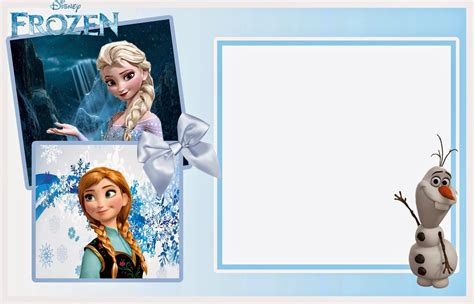 Frozen Invitation Template   cyberuse