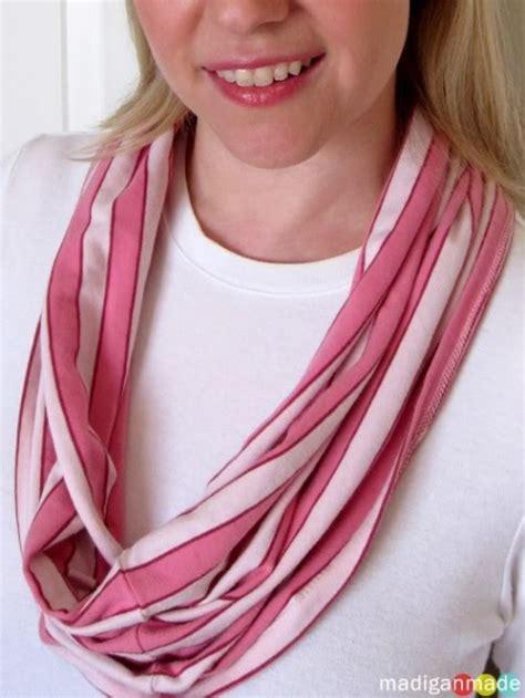 t shirt infinity scarf pattern 18 light spring diy scarfs shelterness