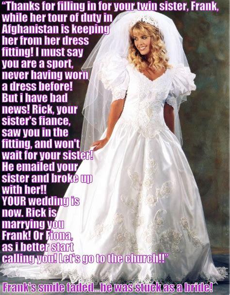 sissy wedding stories miscellaneous tg captions brides pinterest