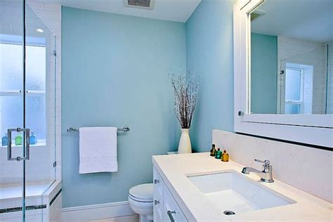 blue and white bathroom choosing the ideal bathroom sink for your lifestyle