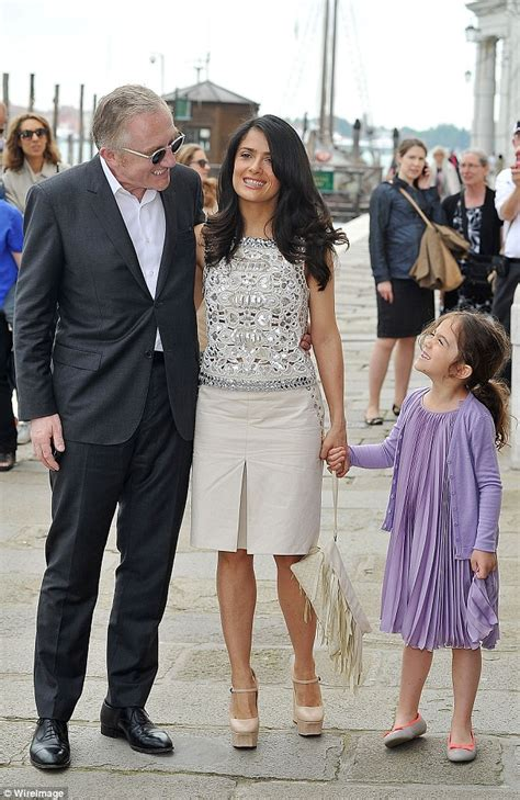 Salma Hayek Engaged And Knocked Up by Salma Hayek Details Dating History That Led To Happy