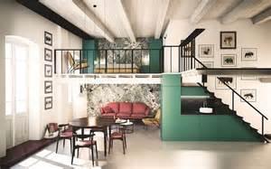 Mezzanine Floor Bedroom by Space Savvy Italian Home Delights With A Nifty Mezzanine