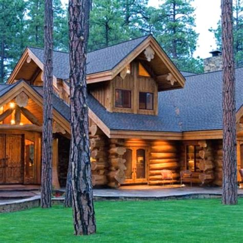 The Log Cabin Caign by Log Homes Beautiful Log Homes