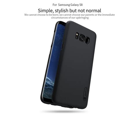 Samsung Galaxy S8 Nillkin Frosted Shield Original nillkin frosted shield matte cover for samsung