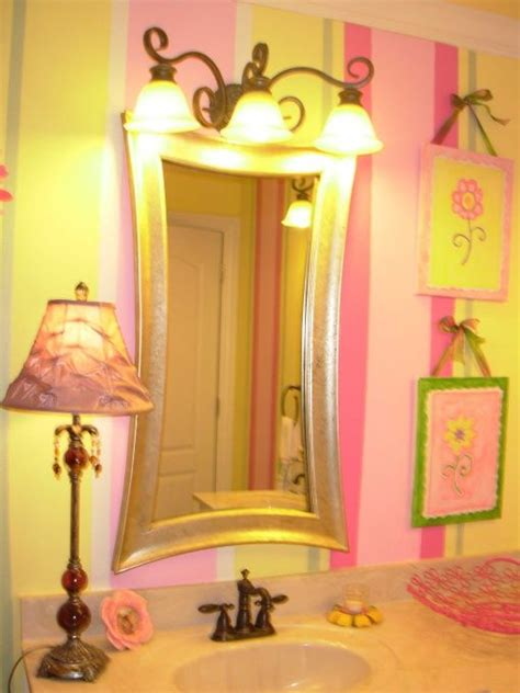 yellow and pink bathroom pink yellow green specially for girls home bathroom