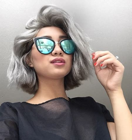 2016/2017 trendy grey hair colors and hairstyles – best
