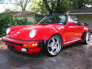 porsche 911 convertible 1980 1980 porsche 911 wide convertible turbo look no