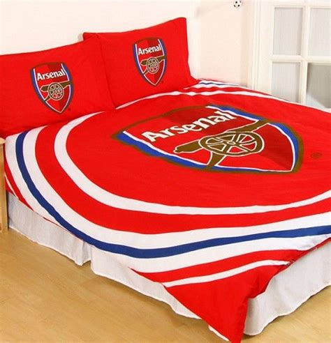 arsenal quilt arsenal fc football club double doona quilt duvet cover