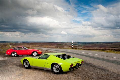 Lamborghini Daytona Miura Vs 365gtb Cars