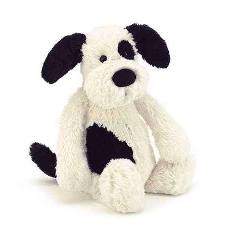 jellycat bashful puppy jellycat bashful puppy black large plush animal