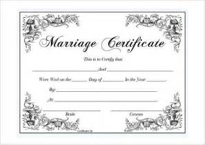 Marriage Certificate Templates Free Best 25 Marriage Certificate Ideas On Pinterest