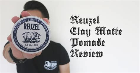 Reuzel Clay Matte Pomade heavy metal pomp reuzel clay matte pomade review