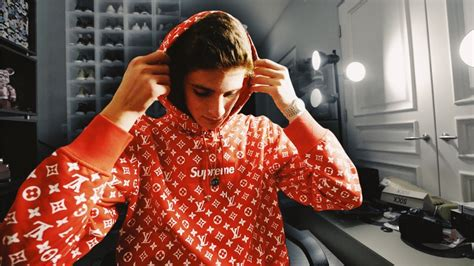 Supreme Lv Sweater i got the supreme louis vuitton box logo hoodie