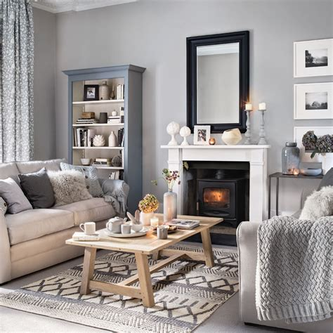 grey living room ideas ideal home - Grey Living Room