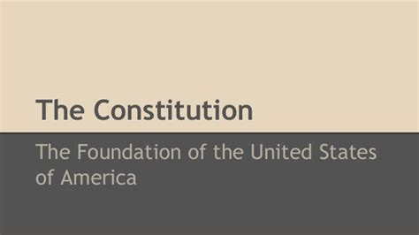 new views of the constitution of the united states classic reprint books the constitution the foundation of the united states of