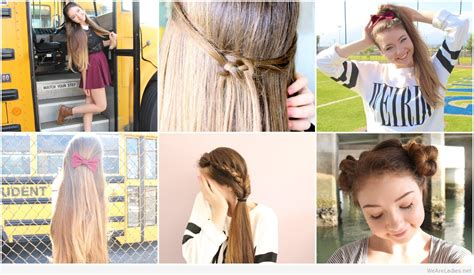 cute hairstyles back to school 2015 back to school hairstyles for long hair step by hairstyles