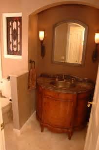 Half Bath Vanity Cabinet 9 Great Design Ideas For Half Baths And Powder Rooms
