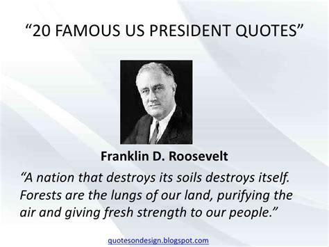 20 us president quotes