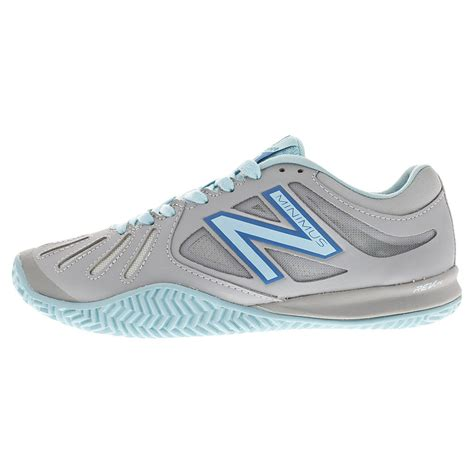 new balance s 60v1 b width clay tennis shoes silver