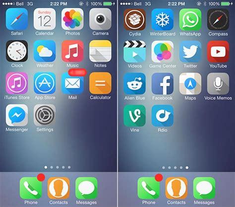 cartoon themes for iphone 6 los 10 mejores temas para iphone en ios 7 con winterboard