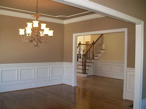 clean lines ceiling same color or shade of wall with contrasting ceiling moldings home design
