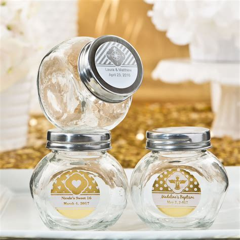 Candy Giveaways - baptism giveaways mini candy jars