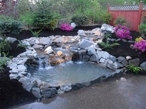 ponds and waterfalls for the backyard backyard ponds with waterfall all for the garden house
