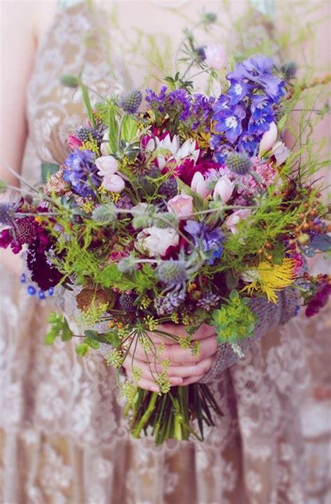10 bouquets qui prouvent que les fleurs des champs ont la cote   Mariage.com