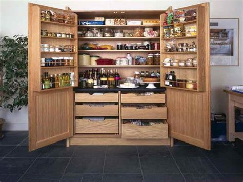 Stand Alone Pantries by Kitchen Pantry For Organized And Neat Kitchen Trellischicago