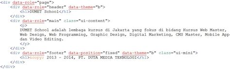 membuat query di javascript membuat hello world di jquery mobile