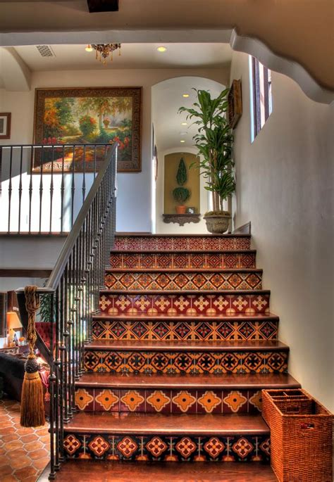 mediterranean home decor mediterranean spanish style homes interior stairs decor