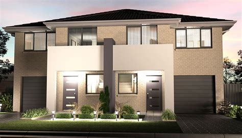 Australian House Plans by What If Your First Home Is A Duplex House Homes Innovator