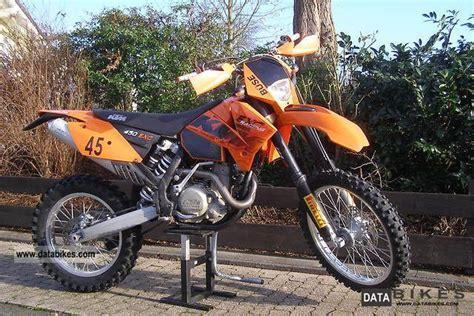 2006 Ktm 400 Exc Specs 2006 Ktm 400 Exc Racing Moto Zombdrive