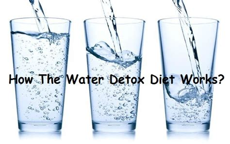 How Does The Detox Water Diet Work by Detoxification Water Detox Diet To Flush