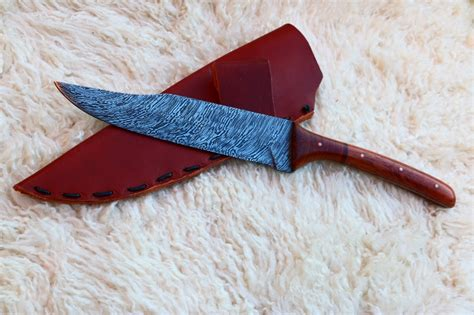 pattern welded bowie knife pattern welded hunting knife show and tell bladesmith