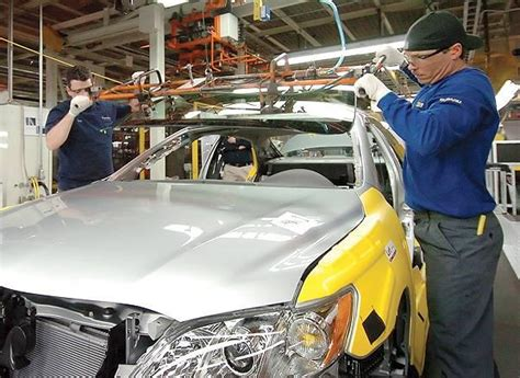 Toyota Lafayette Indiana Subaru To End Camry Production For Toyota At Indiana Plant
