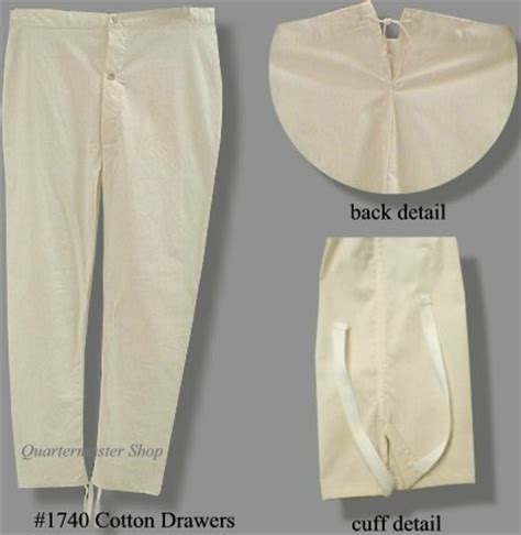 drawers, long johns and union suits, pre and post mexican war