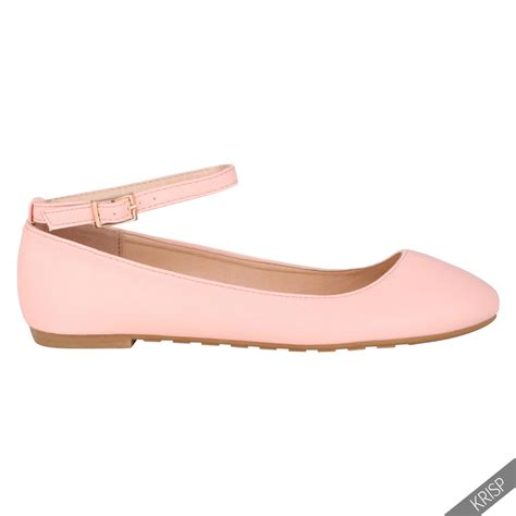 Ballerina Style Ballet Flats by Ankle Fashion Ballerina Flats Pumps