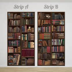 bookcase wallpaper uk bookcase self adhesive wall mural by oakdene designs
