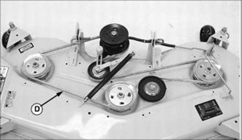 deere 54 inch mower deck tension 48c mower deck idler pulley diagram 48c free engine