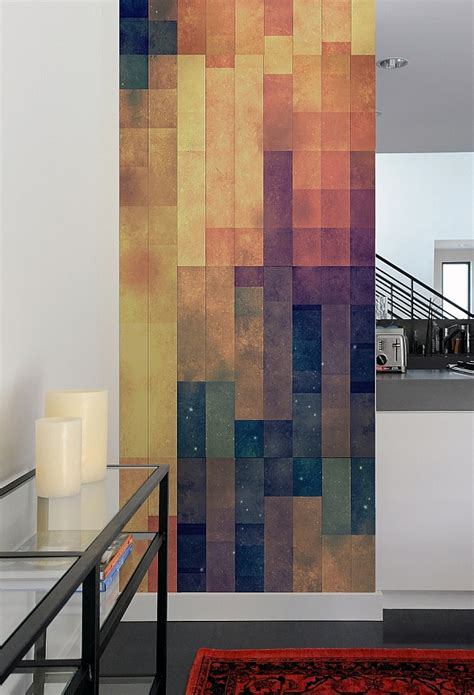 wall tiles modern create a captivating accent wall with geometric patterned