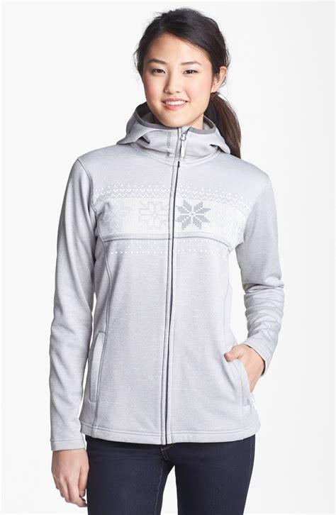 Jakethoodiesweatshirt Grey Melange Crew Fleece helly hansen graphic fleece hoodie in gray melange ash