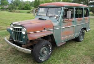Jeep Wagon 4 Wheeling 1956 Willys Wagon