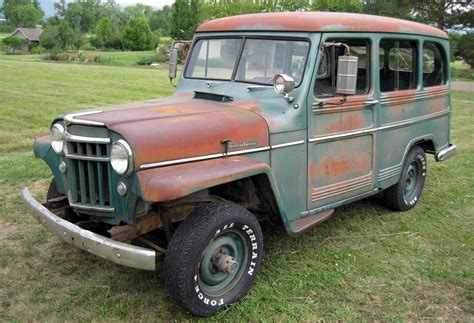 4x4 station wagon 4 wheeling 1956 willys wagon