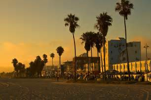 Custom Printed Duvet Covers Quot Dusk On Venice Beach California Quot Posters By Barb White