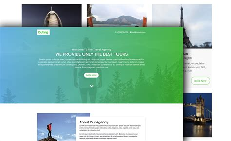 bootstrap themes travel agency bootstrap 4 travel agency website template
