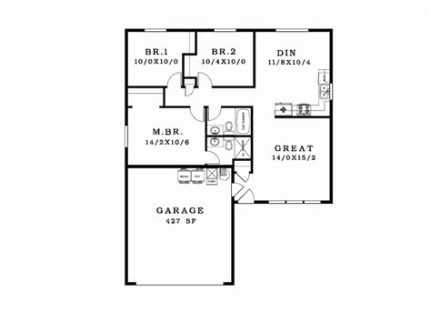 good house floor plans simple house blueprint eplans ranch plan good house plans 76386