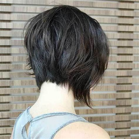 what does the back of a short bob haircut look like 20 sexy stacked haircuts for short hair you can easily